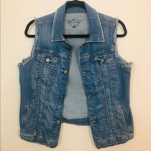 Free People Jean vest
